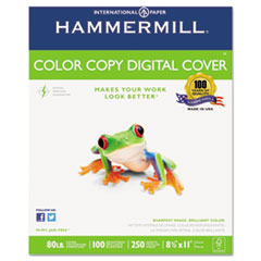 Picture of Copier Digital Cover Stock, 80 lbs., 8 1/2 x 11, Photo White, 250 Sheets
