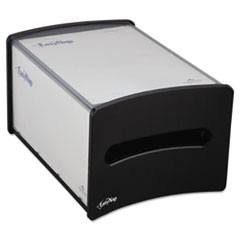 Picture of EasyNap Countertop Napkin Dispenser, M-Window, 9 1/4w x 13 5/8d x 7 1/4h, Black