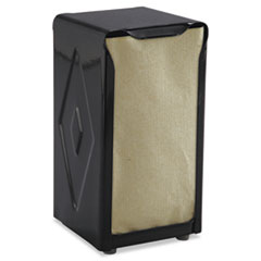Picture of Tabletop Napkin Dispenser, Tall Fold, 3 3/4 x 4 x 7 1/2, Capacity: 150, Black