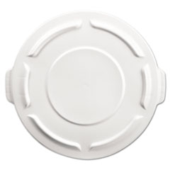 Picture of Round Brute Flat Top Lid, 19 7/8 x 1 4/5, White