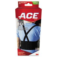 Picture of Work Belt with Removable Suspenders, One Size Adjustable, Black
