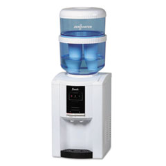 Picture of ZeroWater Dispenser with Filtering Bottle, 5 gal, Clear/White/Blue