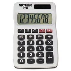 Picture of 700 Pocket Calculator, 8-Digit LCD