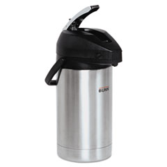 Picture of 3 Liter Lever Action Airpot, Stainless Steel/Black