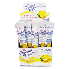 Picture of Flavored Drink Mix, Lemonade, 30 .17oz Packets/Box
