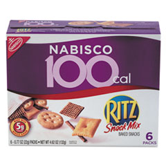 Picture of Ritz 100 Calorie Snack Mix, 6/Box