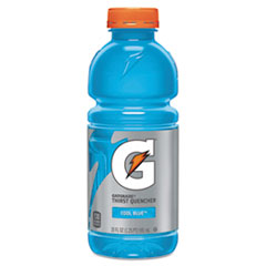 Picture of G-Series Perform 02 Thirst Quencher, Cool Blue, 20 oz Bottle, 24/Carton