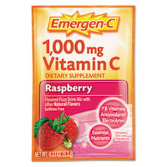 Picture of Immune Defense Drink Mix, Raspberry, .3oz Packet, 50/Pack