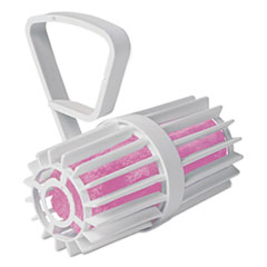 Picture of Toilet Rim Cage with Non-Para Block, White/Pink, Cherry, 12 per Carton