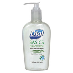Picture of Basics Liquid Hand Soap, 7.5 oz, Rosemary & Mint