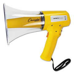 Picture of Megaphone, 8-12W, 800 Yard Range, White/Yellow