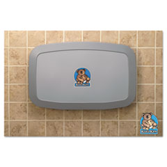 Picture of Horizontal Baby Changing Station, Gray