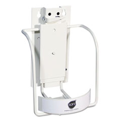 Picture of Universal 3-in-1 Sani-Bracket, Plastic/Vinyl-Coated Wire
