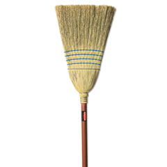 Picture of Warehouse Corn-Fill Broom, 38-in Handle, Blue