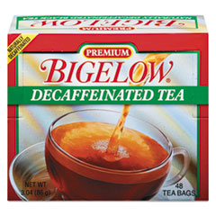Picture of Single Flavor Tea, Decaffeinated Black, 48 Bags/Box