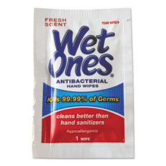 Picture of Antibacterial Moist Towelettes, 5 x 7 1/2, White, 1-Ply, 240 Wipes/Carton