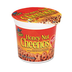 Picture of Honey Nut Cheerios Cereal, Single-Serve 1.8oz Cup, 6/Pack