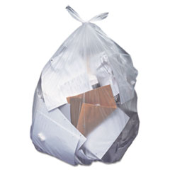 Picture of Low-Density Can Liners, 12-16 gal, 0.35 mil, 24 x 32, Clear, 500/Carton