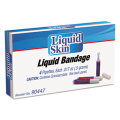 Picture of Liquid Bandage, 0.017 oz Pipette, 4/Box