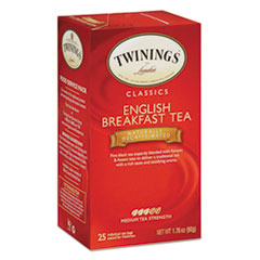 Picture of Tea Bags, English Breakfast Decaf, 1.76 oz, 25/Box