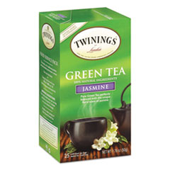 Picture of Tea Bags, Green with Jasmine, 1.76 oz, 25/Box