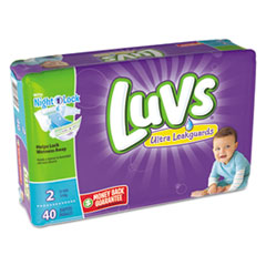 Picture of Diapers, Size 2: 12 to 18 lbs, 40/Pack, 2 Pack/Carton