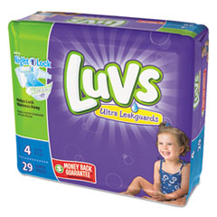 Picture of Diapers, Size 4: 22 to 37 lbs, 29/Pack, 4 Pack/Carton