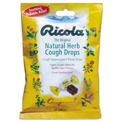 Picture of Cough Drops, Natural Herb, 21 Drops/Bag
