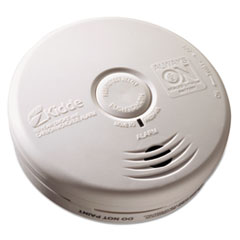 "Picture of Kitchen Smoke/Carbon Monoxide Alarm, Lithium Battery, 5.22""Dia x 1.6""Depth"