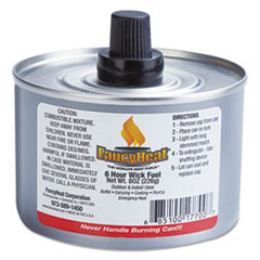 Picture of Chafing Fuel Can, Stem Wick, 4-6hr Burn, 8oz, 24/Carton