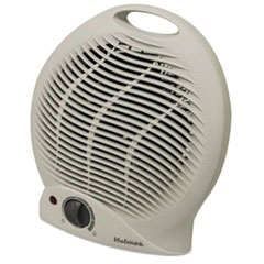 Picture of Compact Electric Fan-Forced Heater, Off-White, 1500W, 9 1/8 x 5 5/8 x 10 5/8