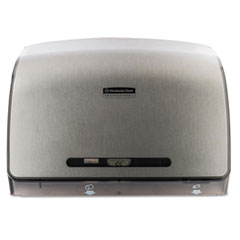 Picture of Coreless JRT Tissue Dispenser, 14 1/10w x 5 4/5d  x 10 2/5h, Brushed Metallic