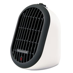 "Picture of Heat Bud Personal Heater, 250 W, 3 9/10"" x 5 1/2"" x 6 3/10"", White"
