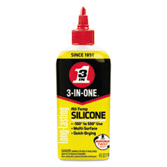 Picture of 3-IN-ONE Professional Silicone Lubricant, 4 oz Bottle