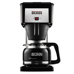 Picture of 10-Cup Velocity Brew BX Coffee Brewer, Black, Stainless Steel