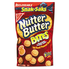 Picture of Nutter Butter Cookies, 8 oz Snak Pak