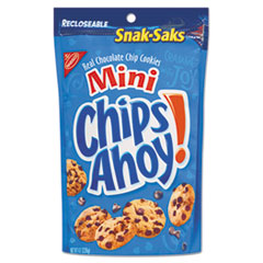 Picture of Chips Ahoy Cookies, Chocolate Chip, 8 oz Snak Sak