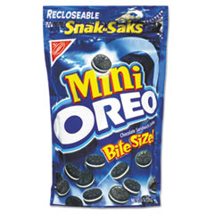 Picture of Oreo Minis - Single Serve, 8 oz Snak Sak