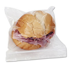 Picture of Reclosable Food Storage Bags, Sandwich Bags, 1.15 mil, 6 1/2 x 5 8/9, 500/Box