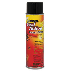 Picture of Dual Action Insect Killer, For Flying/Crawling Insects, 17oz Aerosol,12/Carton