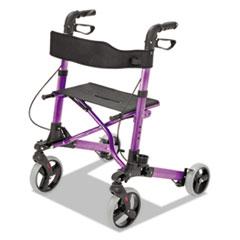 "Picture of Gateway Aluminum Rollator, Purple, 31""-36""H, 300 lb Capacity"