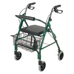 Picture of Ultra Lightweight Rollator, Green, Aluminum, Adjustable