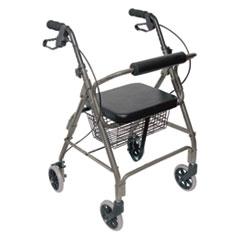 Picture of Ultra Lightweight Rollator, Titanium, Aluminum, Adjustable