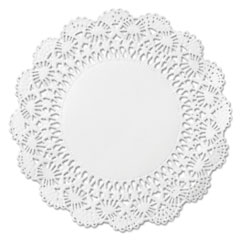 "Picture of Cambridge Lace Doilies, Round, 10"", White, 1000/Carton"