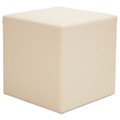 Picture of Alera WE Series Collaboration Seating, Cube Bench, 18 x 18 x 18, Almond