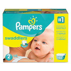 Picture of Swaddlers Diapers, Size 2: 12 - 18 lbs, 148/Carton