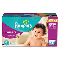 Picture of Cruisers Diapers, Size 4: 22 - 37 lbs, 124/Carton