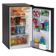 "Picture of 4.4 CF Auto-Defrost Refrigerator, 19 1/2""w x 22""d x 33""h, Black"