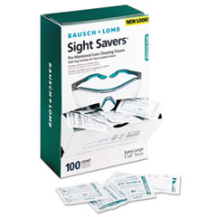 Picture of Sight Savers Pre-Moistened Anti-Fog Tissues with Silicone, 100/Pack