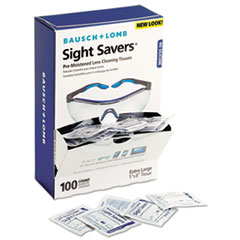 Picture of Sight Savers Premoistened Lens Cleaning Tissues, 100 Tissues/Box